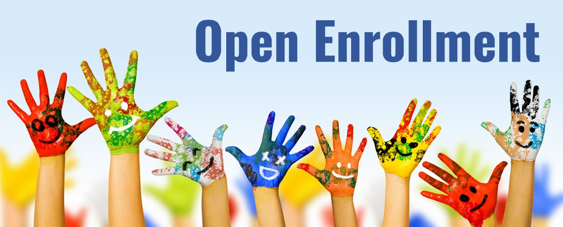 Admissions Open Year Round